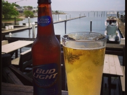 Happy #NationalBeerDay! #fishhousepensacola #atlas #budlight #beer #grabacoldone