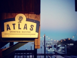 #latergram #atlaspensacola #fishhousepensacola #downtownPensacola #downtowndining #sunset #pensacolabay