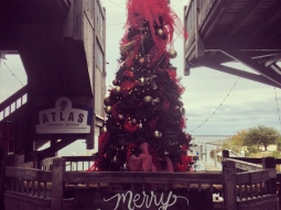 It's beginning to look a lot like Christmas at #fishhousepensacola, #atlaspensacola, and the #deckbar! #Christmas #holidays #merrygritsmas #upsideofflorida #downtownpensacola