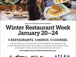 Great Southern Restaurants Winter #RestaurantWeek! @jacksonsrestaurant #fishhousepensacola #downtownpensacola #upsideofflorida #visitpensacola #atlas