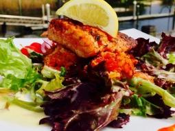 #fishhousepensacola #lunch #yum #seafood #salad