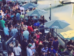 Get to The Fish House Deck now! #fishhousebeerfest #beer #beerfest #beerfestival #pensacola #visitpensacola #pcola #upsideofflorida #downtownpensacola #atlas #deckbar