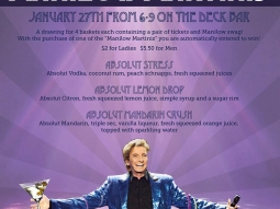 """Oh yes it's Ladies' Night! $2 drinks for ladies all night long AND in honor of Barry Manilow's concert at Pensacola Bay Center tomorrow, we will be serving special """"Manilow Martinis""""! Come party with us tonight!  #FishHousePensacola #DowntownPensacola #VisitPensacola #manilow #barrymanilow #ladiesnight"""
